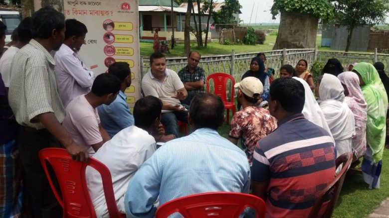 Discussions with the community and VHSNC members on their roles in HWCs, Assam